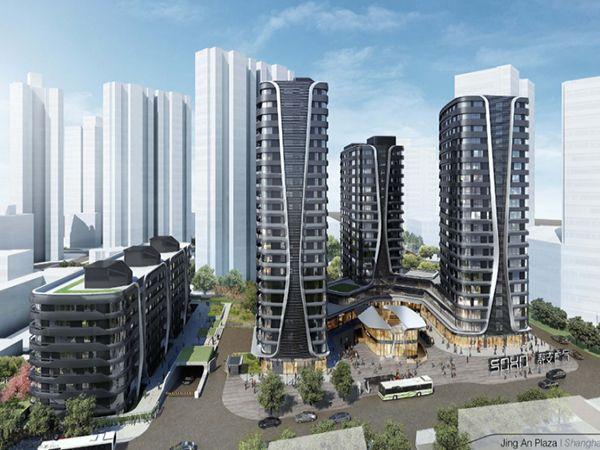 上海金融街梅村中心