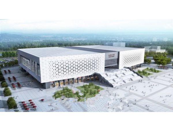 山东济宁综合体育馆